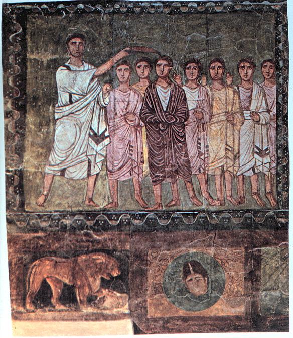 古代ヘブライ人の描写