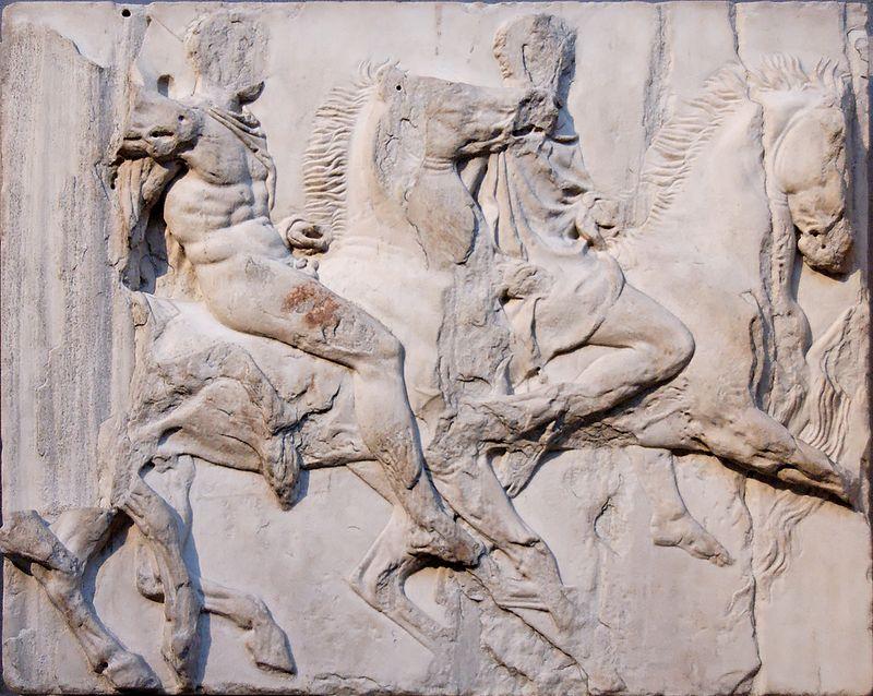 パルテノン神殿のフリーズ彫刻