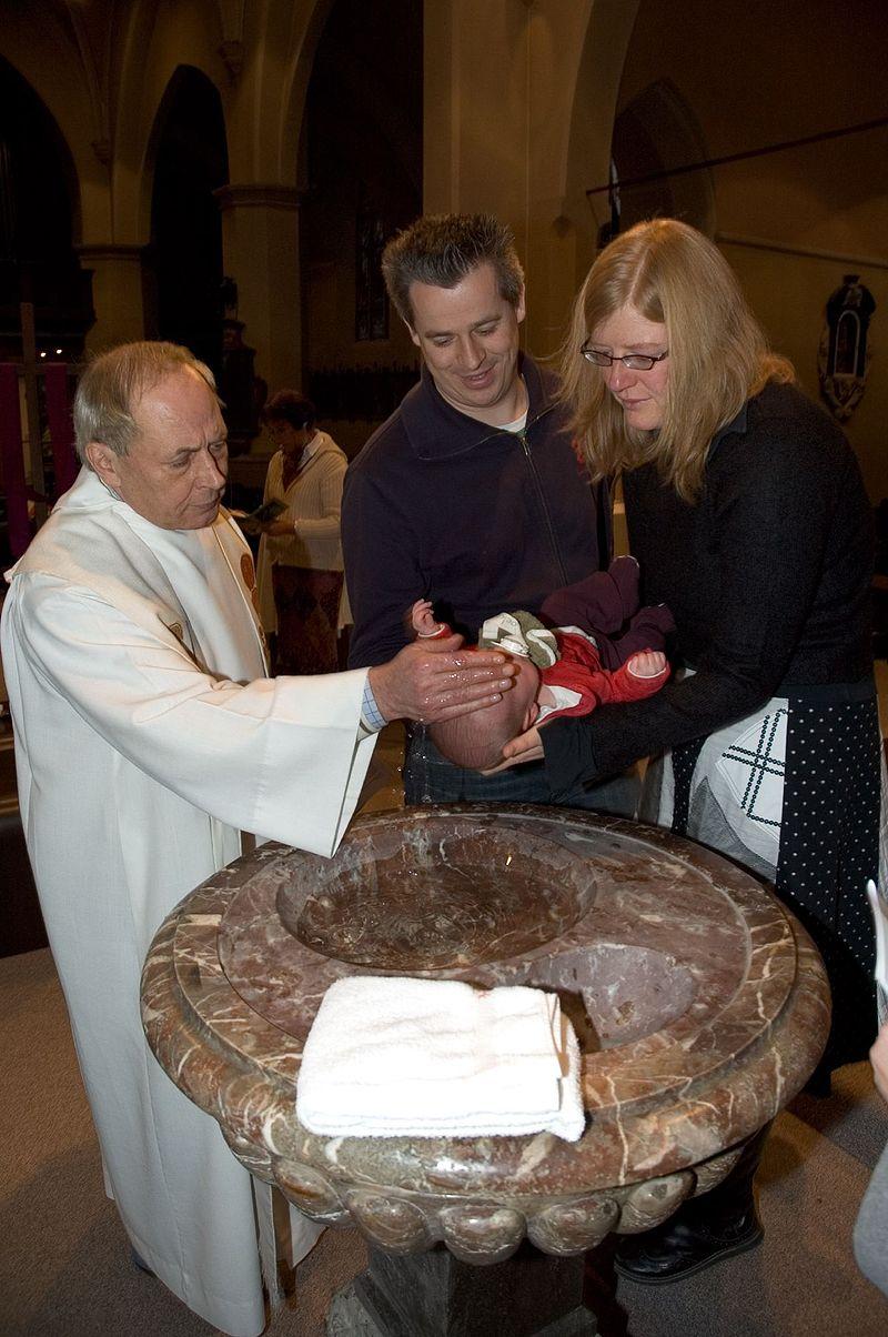 カトリックの幼児洗礼
