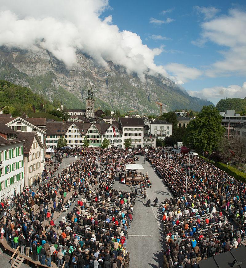 スイスの州民集会