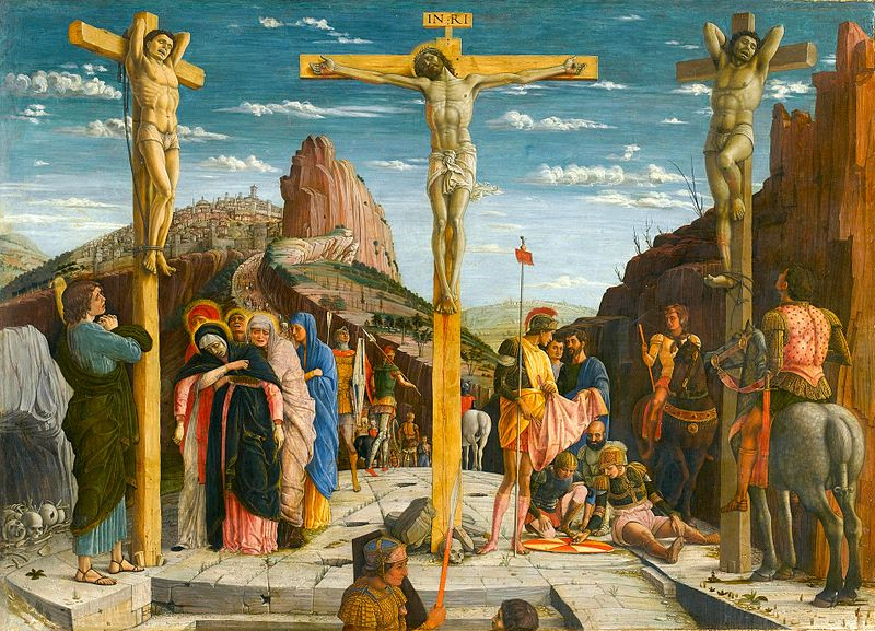 イエスキリストの磔刑図