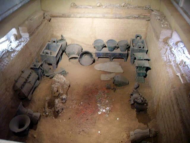 殷墟の婦好墓